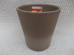 "Orchideenvase ""Dover"" 15 cm sandgrau • VE 6"