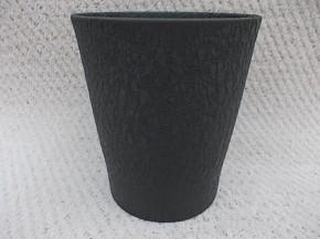 """Orchideenvase """"Merina"""" 15 cm nachtschwarz effekt • VE 6"""