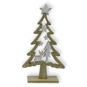 Holzweihnachtsbaum 40 cm • VE 24
